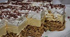 ... Ketogenic Recipes, Keto Recipes, Cooking Recipes, Cake Bars, Poppy Cake, Sweet Cookies, Hungarian Recipes, Keto Dinner, Nutella