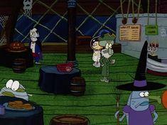 Halloween Icons, Retro Halloween, Halloween Cartoons, Halloween Movies, Halloween Horror, Halloween Town, Happy Halloween, Spongebob Halloween, Spongebob Pics