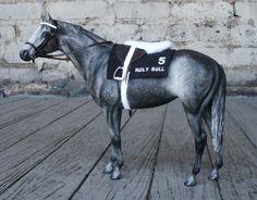 Custom Model race horse tack