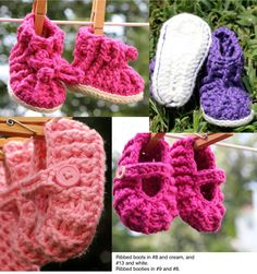 #handmade baby booties #etsy @etsy http://www.etsy.com/shop/jackjackdesigns?ref=si_shop #baby