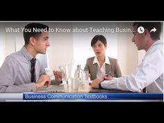Teaching Business Communication: Which Textbook Should You Adopt?