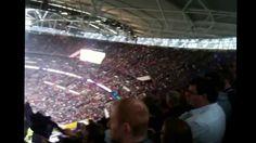 Wembley Stadium, England during International NFL game between Minnesota and Pittsburgh
