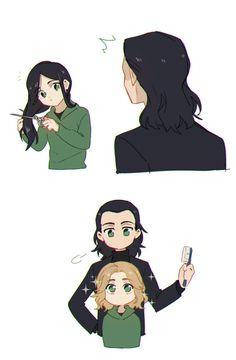 Loki Art, Thor X Loki, Loki Avengers, Marvel Jokes, Marvel Funny, Marvel Avengers, Marvel Fan Art, Loki Laufeyson, Film Serie