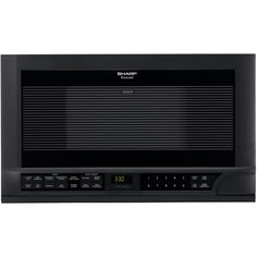 1.5 Cu. Ft. 1100W Over-The-Counter Microwave in Black
