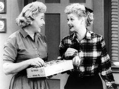 Lucy Ricardo and Ethel Mertz…