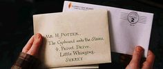 Every Harry Potter fan knows how important and momentous it was for Harry to receive his Hogwarts letter.