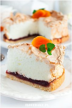 Ciasto piankowiec - I Love Bake 20 Min, Sugar Rush, Cheesecake, Baking, Recipes, Food, Meringue, Cheesecake Cake, Bread Making