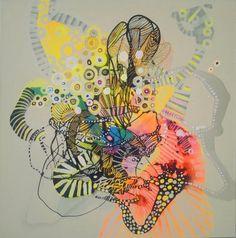 Dyptyk abstrakcje obrazy olejne Majchrzak 120x60