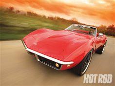 1968 Chevrolet Corvette - Custom LS6-Powered C3 Roadster - Hot Rod Magazine