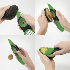 Avocado slicer - makes quick work of this cool, creamy, delicious fruit.
