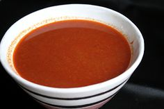 Homemade Red Enchilada Sauce   {authentic family recipe from my friend Deidrie}