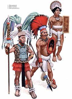 warriors of the Maya Empire