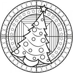 malvorlage oma | mandala malvorlage zu weihnachten - weihnachtsbaum und geschenke | christmas