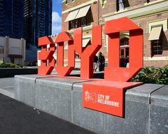 signage, exterior, environmental, typography dimensional (Boyd School, via Flickr)