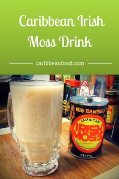 Caribbean Irish Moss Drink recipe is a bit of Jamaican inspiration - a sweet dose of vanilla extract and a sprinkle of delectable cashew nuts. Jamaican Drinks, Jamaican Dishes, Jamaican Recipes, Jamaican Cuisine, Raw Recipes, Juice Recipes, Drink Recipes, Caribbean Drinks, Caribbean Recipes