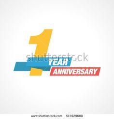 1st Years Anniversary Celebration Design.