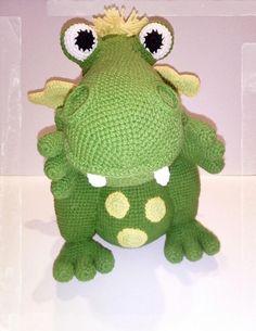 Dinosaur Stuffed Animal, Projects To Try, Dragon, Toys, Crochet, Animals, Amigurumi, Activity Toys, Animales