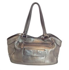 From MTYCI - Prada Metallic Shoulder Bag