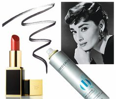 How to Recreate Classic Beauty Looks (Inspired by the Movies!). To get Audrey Hepburn's look of polished elegance, you'll need to master bold red lips, defined eyes and the classy pony. Here's how. #SelfMagazine