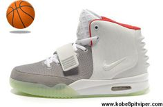 check out b9629 94c2d Buy Discount Nike Air Yeezy II Women Shoes White Gray Basketball Shoes  Store Basketball Shoes,