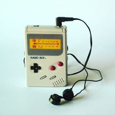 nightliquid_retro.inc The Nintendo Radio Boy is an official Game Boy merchandise item released in 1992. It's basically a battery powered, Game Boy shaped AM / FM radio - but a very stylish one.