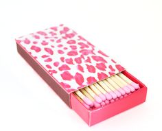 pink leopard matchbox!