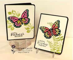 card making video tutorial: Butterfly Sparkly Stained Glass Technique