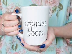 First coffee, then copper boom!
