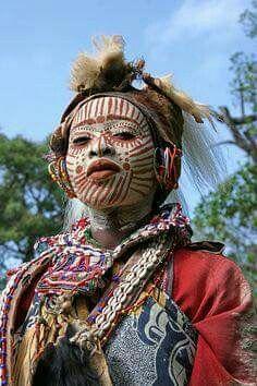 Kikuyu people, Kenya.
