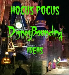 Love Disney Bounding or need a costume for next year's MNSSHP?  Check out this clever post from DISTherapy with Hocus Pocus Halloween Costume Inspirations