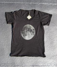 Full Moon Screenprinted Tee Shirt