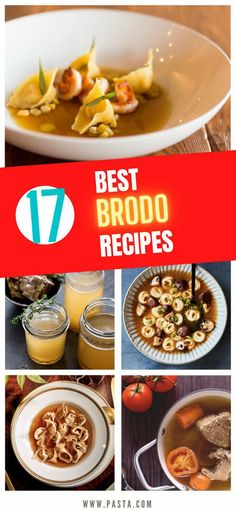 Best Brodo Recipes - We've uncovered the best brodo recipes that are so easy to make in your own home. They taste amazing and you won't believe how... Italian Soup Recipes, Vegetarian Pasta Recipes, Chicken Pasta Recipes, Healthy Pasta Recipes, Healthy Pastas, Appetizer Recipes, Beef Pasta, Dessert Recipes, Tortellini In Brodo