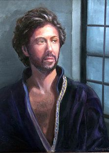 Protrait paintings of Leslie Margolis - Once Upon a Prince
