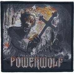 Patch Powerwolf »Preachers of the night« | Dispo chez EMP | Plus de Patchs Merchandising de groupes sur notre site en ligne ✓ Prix imbattables !
