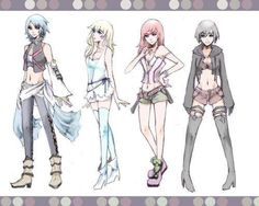 Just re-designing, having some fun. Just wanted to draw the KH girls in a different outfit. XD Kingdom Hearts and characters (c) Square Enix Designs by . Kairi Kingdom Hearts, Kingdom Hearts Cosplay, Kingdom Hearts Games, Kingdom Hearts Fanart, Art Anime, Manga Art, Final Fantasy, Sora And Kairi, Kindom Hearts