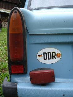 DDR Trabi (Easty German Trabant) by Skitmeister, via Flickr