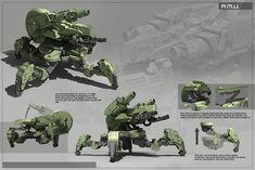 concept robots: Robotic concepts by Fausto De Martini