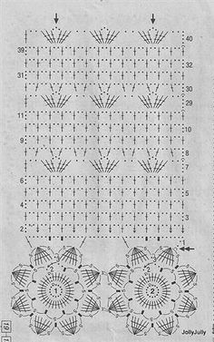 باترون ستاره من الكروشيه   crochet curtain pattern          اضغطي علي البا ترون لل ت كبير - press on pattern to enlarge