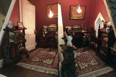 Fairfield Dollhouse 1:24 scale - Study