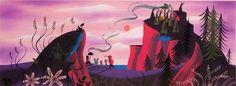 "Mary Blair ""Peter Pan"" concept art"