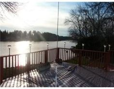 Large deck overlooking Seymour Lake. Watch the boats go by.  http://www.trenton-real-estate.ca