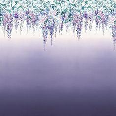 summer palace - grape wallpaper | Designers Guild