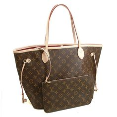 319b660bb5a0d AUTHENTIC LOUIS VUITTON MONOGRAM NEVERFULL MM BAG M40996 FUCHSIA Louis  Vuitton Neverfull Monogram