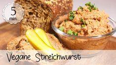 Vegane Streichwurst mit Silberzwiebeln - Rezept von Unsere Vegane Küche Comfort Food, Sugar, Fett, Youtube, Firm Tofu Recipes, Food Items, Food Portions, Diy, Youtubers