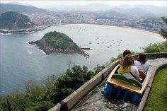 Monte Igueldo. San Sebastian. Euskadi. Spain.