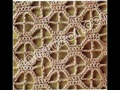 Образец узора крючком // урок и схема - YouTube Crochet Motifs, Crochet Borders, Crochet Stitches Patterns, Thread Crochet, Filet Crochet, Irish Crochet, Knitting Stitches, Crochet Designs, Crochet Doilies