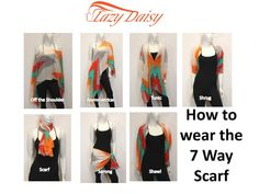 7 Way Scarf