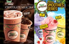 TeaPresso poster design by Triodesign (Indonesia & Taiwan)  I love the pop up anyway