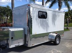 Mobilegroomingtrailersforsale.com provide mobile grooming trailer for sale.The base price for their 2015 model, 6'x12′ mobile shop is only $17,500.00.
