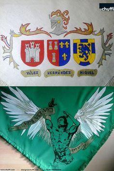 Pañuelos pintados a mano de SANTAGEDA de Alsasua